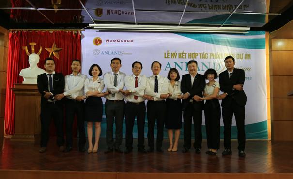 5 đại lý cam kết đồng hành của Tập đoàn Nam Cường trong dự án Anland Premium