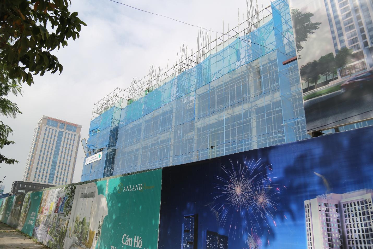 Dự án Anland Premium đang thi công đến tầng 5
